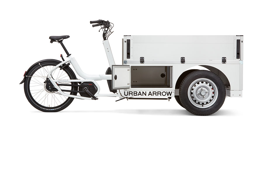 URBAN ARROW© - Tender 1000 Pick-up Espace de rangement